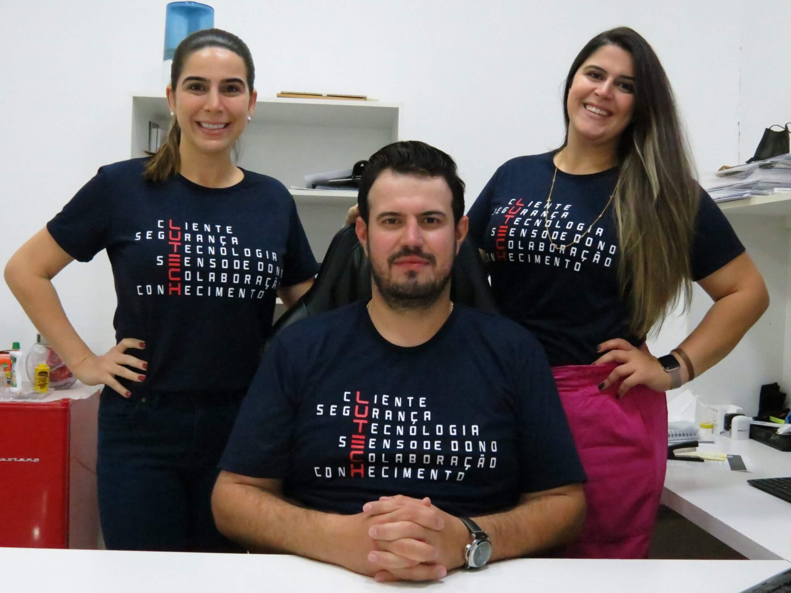 Irmãos De Marco: Luciana, Luiz Carlos Júnior e Ludimila